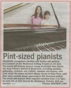 Piano prodigy nnews